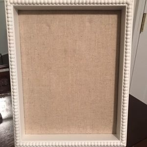 Shadow box frame w/ storage bag